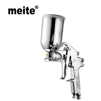 Meite spray gun W77B-G HVLP air sprayer in 1.5/2.0/2.5/3.0mm nozzle gravity type for car painting