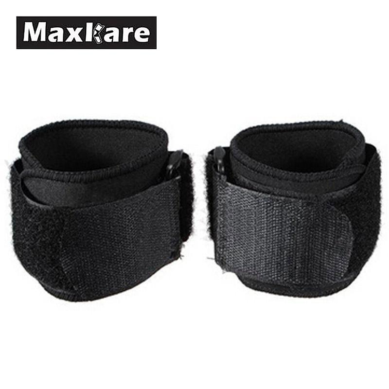Maxkare Universal Men Nylon Black Adjustable Tool Sports Wristband Wrist Brace Wrap Bandage Support Gym Strap Hand Sport Tool