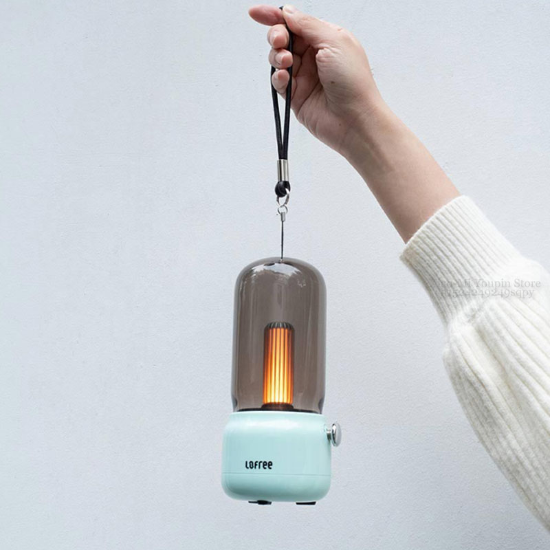 Image 3 - New Xiaomi Mijia Lofree CANDLY Retro Light USB Charging/Charging  Stand Two Light Modes Warm As Ever Warm Surrounding FeelingSmart Remote  Control