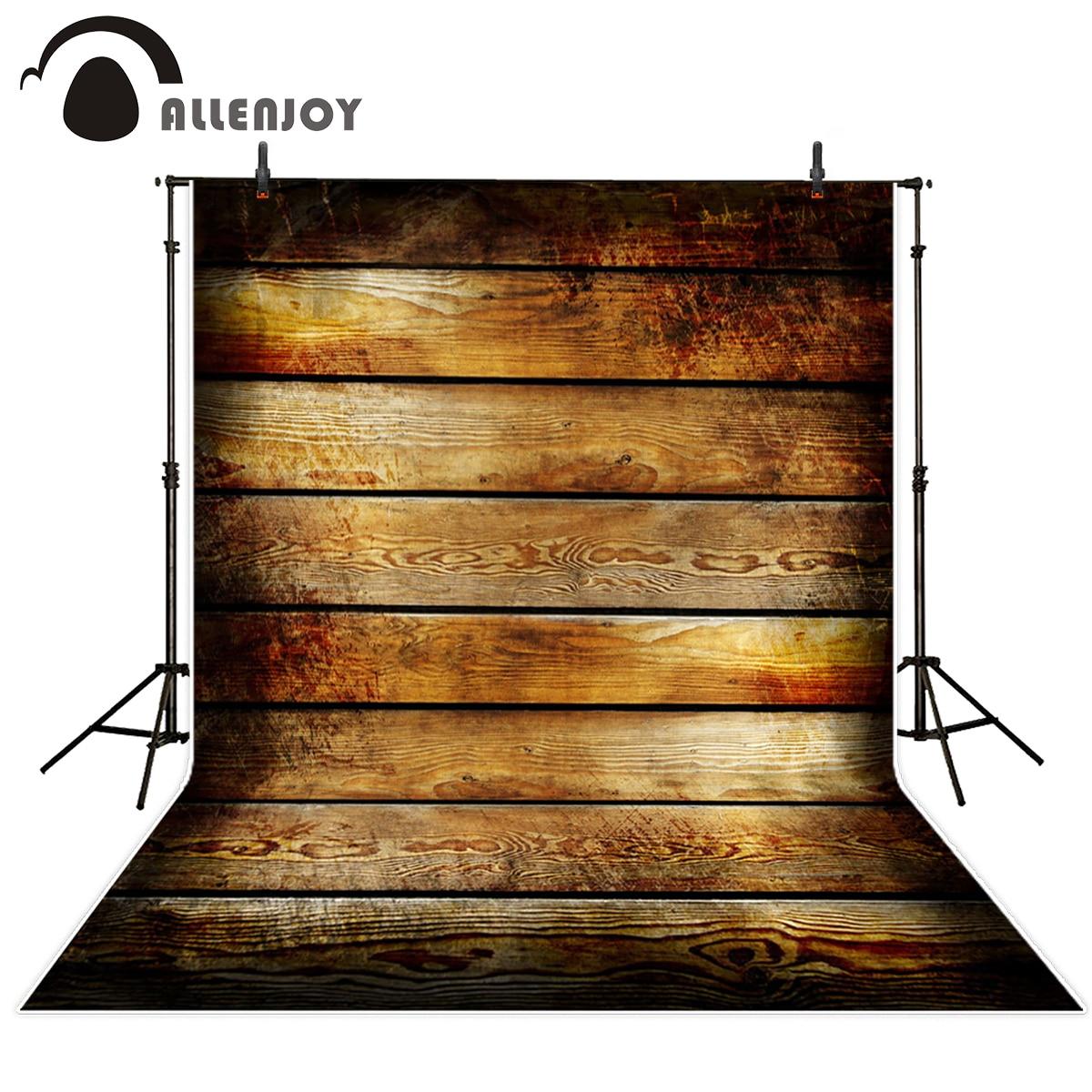 Allenjoy photography backdrops Wood vintage photography studio background vinyl backdrops for photography Backgrounds 10x10ft vinyl custom wood grain photography backdrops prop studio background tmw 20191