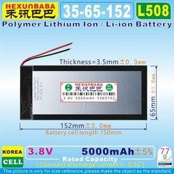 [L508] 3,8 V, 3,7 V 5000 mAh [3565152] PLIB; polymer lithium-ion/Li-Ion batterie für tablet pc, power bank, e-buch; BL-T17 ZELLE