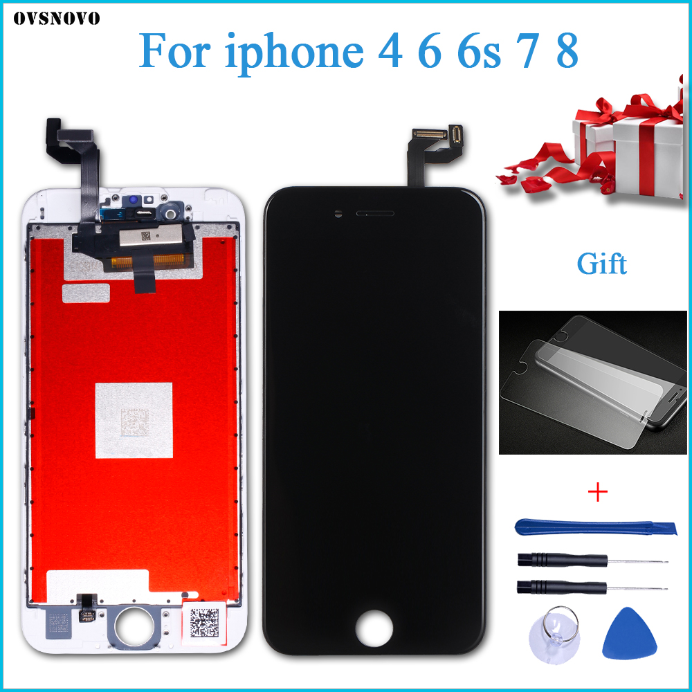 Grade AAA+++ for iPhone 6S screen with tools and tempered glass replacement for iPhone 6/7/8 LCD Display touch screen assemblyGrade AAA+++ for iPhone 6S screen with tools and tempered glass replacement for iPhone 6/7/8 LCD Display touch screen assembly