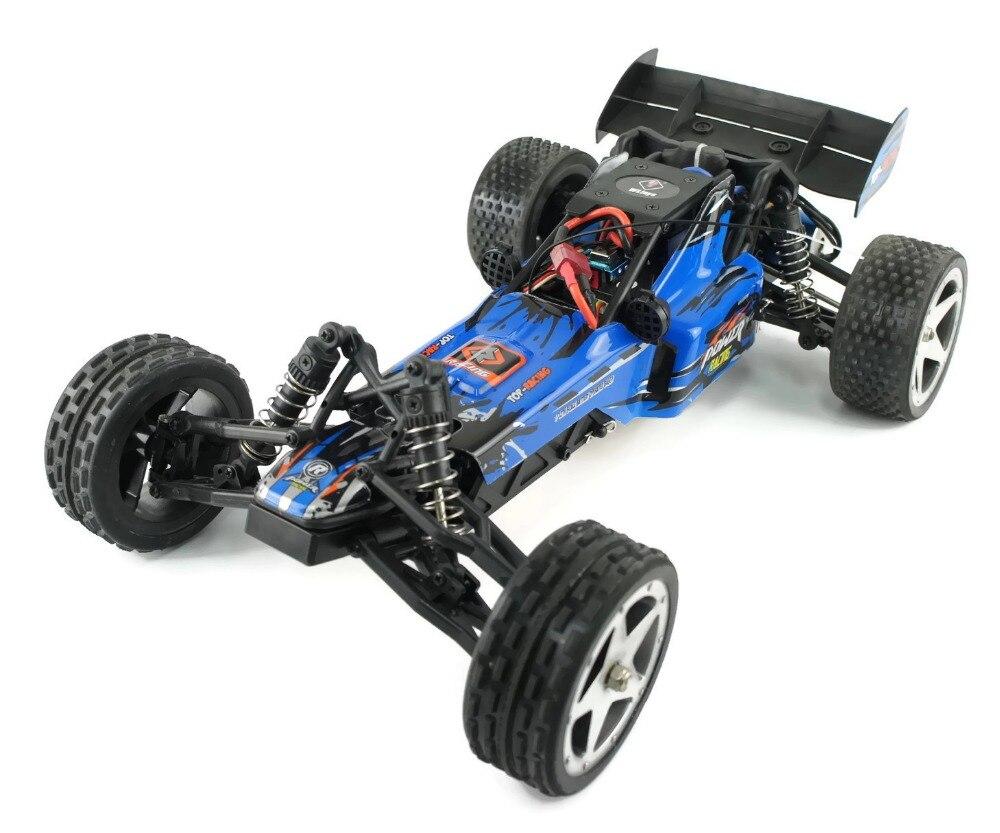 WLTOYS L202 1: 12TH 2.4 GHz voiture RC avec moteur sans brosse voiture radiocommandée 2WD RC Buggy RTR