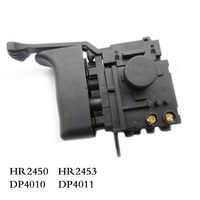 Free Shipping Electric Hammer Drill Speed Control Switch For Makita HR2450 HR2453 DP4010 DP4011 Power Tool