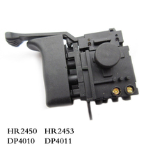 Vận chuyển miễn phí! Điện Máy Khoan búa Tốc Độ Điều Khiển cho Makita HR2450/HR2453/DP4010/DP4011, Công Cụ Điện Phụ Kiện