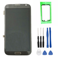 100% Tested High Quality for Samsung GALAXY Note 2 N7100 LCD With Frame Display+Touch Screen Digitizer Assembly+Tools