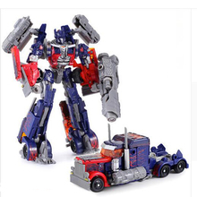 1 PCS Original transformation Toys  Brinquedos Optimus Prime Robot Car Anime Action Figure Juguetes BUMBLEBEE transformer toy