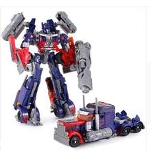 1 PCS Original transformation Toys  Brinquedos Optimus Prime Robot Car Anime Action Figure Juguetes BUMBLEBEE transformer toy