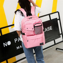 New Junior High School Unisex Student Bag Outdoor Travel Sports Book Students Casual Boys Girls Large Backpack