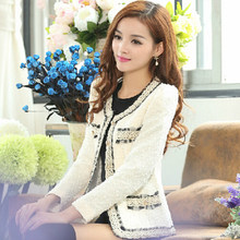 bae5b0acd62 Work Office White Blazer Women Slim Fit Ladies Blazer Feminino Kawaii  Korean Blaser Vintage Chaqueta Mujer Woman Clothes 50X018