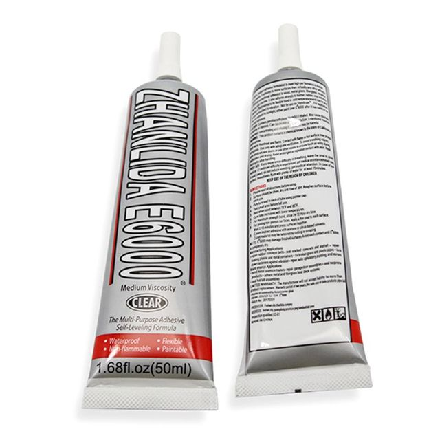 50ml Diy E6000 Glue E 6000 Transparent Super Adhesive Fabric