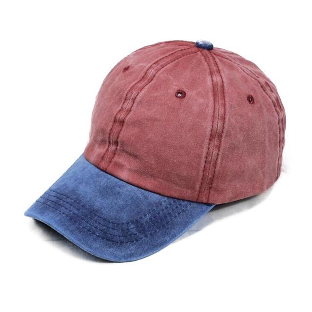 c4609f7ab9e3c BINGYUANHAOXUAN New Mixed Washed Denim Snapback Hats Autumn Men Summer  Women Baseball Cap Golf Sun Cream Beisbol Cap Hockey Caps