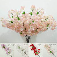 1 Pcs Artificial Begonia Simulation Flowers Decorative Silk Flower For Home Wedding Party P10