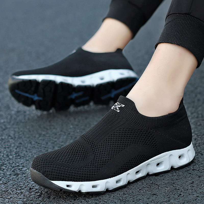 US $12.87 35% OFF|New Man Casual Shoes for Men Light Fashion Sneakers Breathable Walking Shoes Flats Male ZapatIlas Hombre Trend Men Shoes Brand in