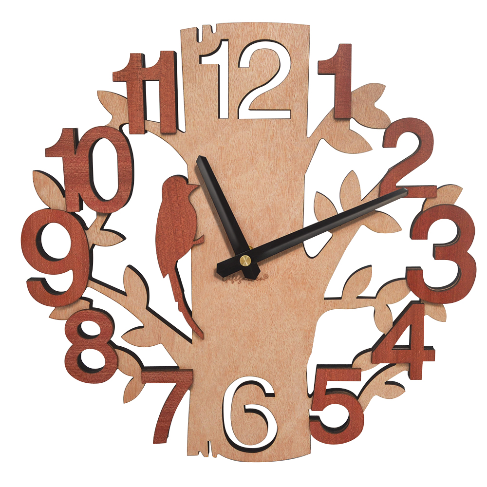 Wooden Wall Clocks Tree Shape Silence Creative Clock for Living Room Wall Clock Decoration for Kitchen Room Wooden Wall Clocks Tree Shape Silence Creative Clock for Living Room Wall Clock Decoration for Kitchen Room