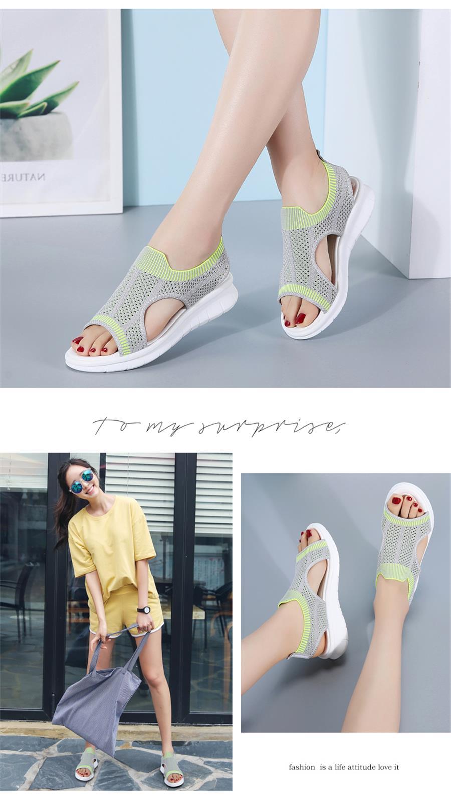HTB1NJXdRhTpK1RjSZFMq6zG VXaN STQ Women sandals 2019 female shoes women summer wedge comfort sandals ladies flat slingback flat sandals women sandalias 7739