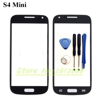 4 3 High Quality Front Outer Glass Lens Screen Replacement For Samsung Galaxy S4 Mini I9190