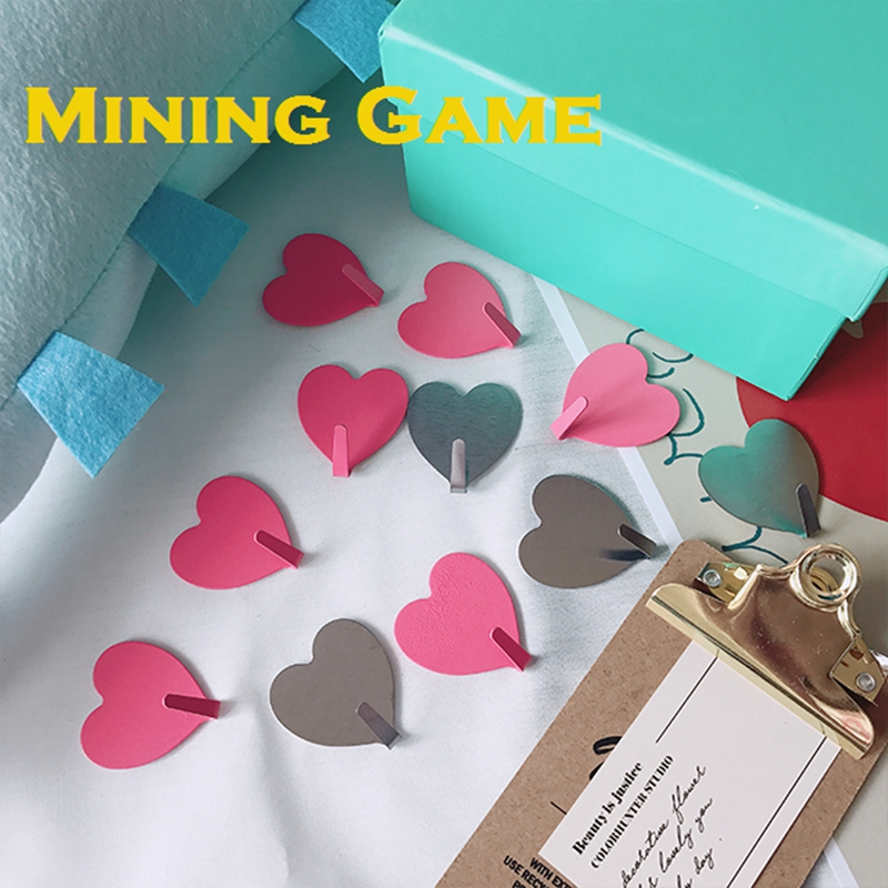 Heart Electron LGBT Rainbow Table Hook Folding Bag Desk Hanger Foldable Holder