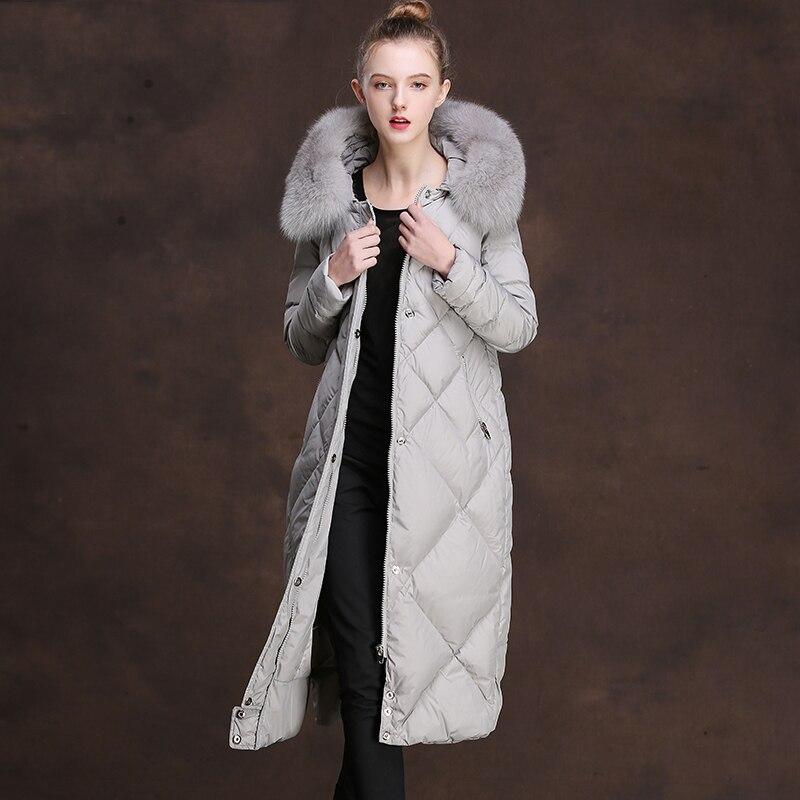 Gray Abrigo Chaqueta Larga De Con 2 Mujeres Capucha Outwear Black axwzvWY
