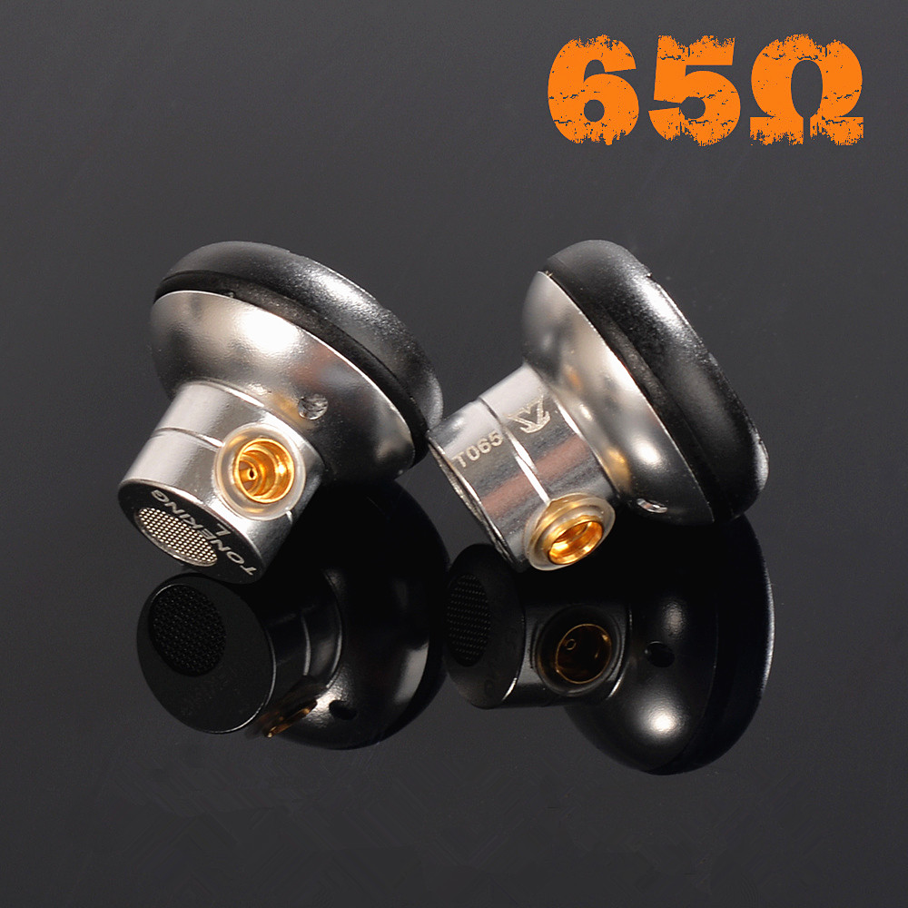 MusicMaker TONEKING TO65/TO180/ TO200 High Impedance Earbud HIFI Monitor Earbud High Impedance Earphone With MMCX Interface