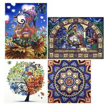 5D DIY Special-shaped Diamond Painting Cross Stitch Embroidery Mosaic Kit Home Decoration