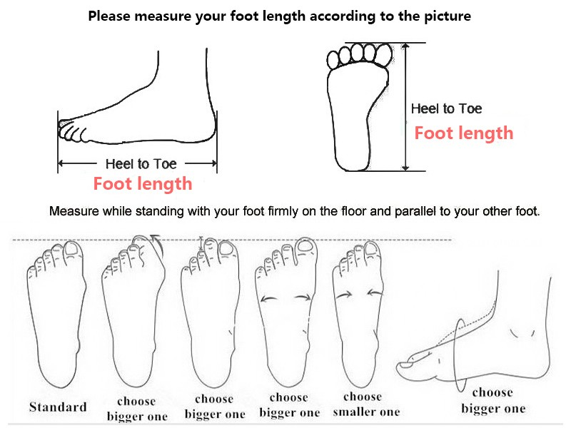 measure your foot length