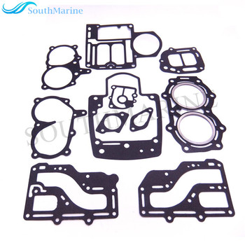 Boat Motor Complete Power Head Seal Gasket Kit Fit Tohatsu Nissan Outboard Engine NS M 9.9HP 15HP 18HP 2-stroke, 2cyl