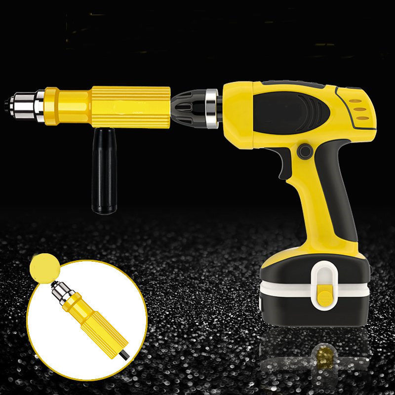 New Electric Rivet Nut Gun Riveting Tool Cordless Riveting Drill Adaptor Insert Nut Tool Riveting Drill Adapter drillpro riveting tool drill adapter upgraded electric rivet nut gun cordless riveter adaptor for electric drill