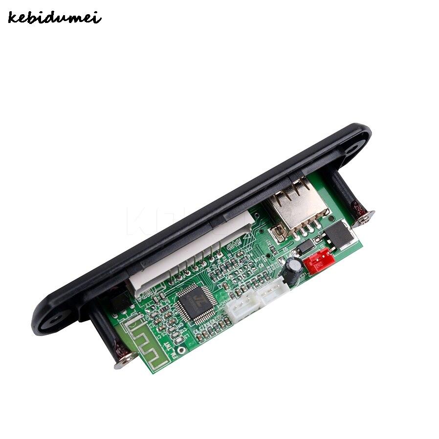 Mp3-player Clever Kebidumei Drahtlose Bluetooth 12 V Mp3 Wma Decoder Board Audio Modul Usb Tf Radio Für Auto Ausgezeichnet Im Kisseneffekt