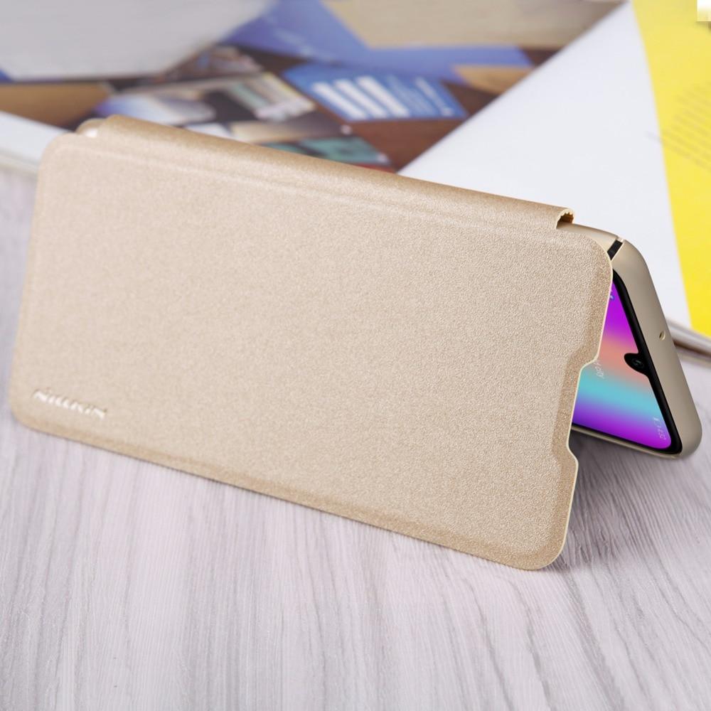 Funda Huawei Honor 10 Lite Funda NILLKIN Sparkle Super Thin Flip - Accesorios y repuestos para celulares - foto 5