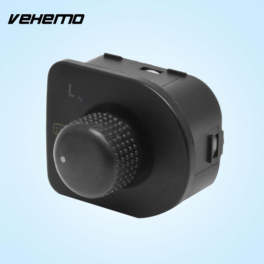 Vehemo Hot Side Mirror Switch Knob W/Heat Control For VW Passat Jetta Hot Sale Car Accessories Drop Shipping