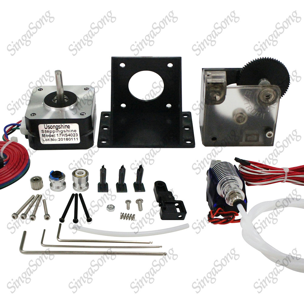 3d printer motor titan Extruder Full Kit with NEMA 17 Stepper Motor ssupport both Direct Drive and Bowden Mounting Bracket