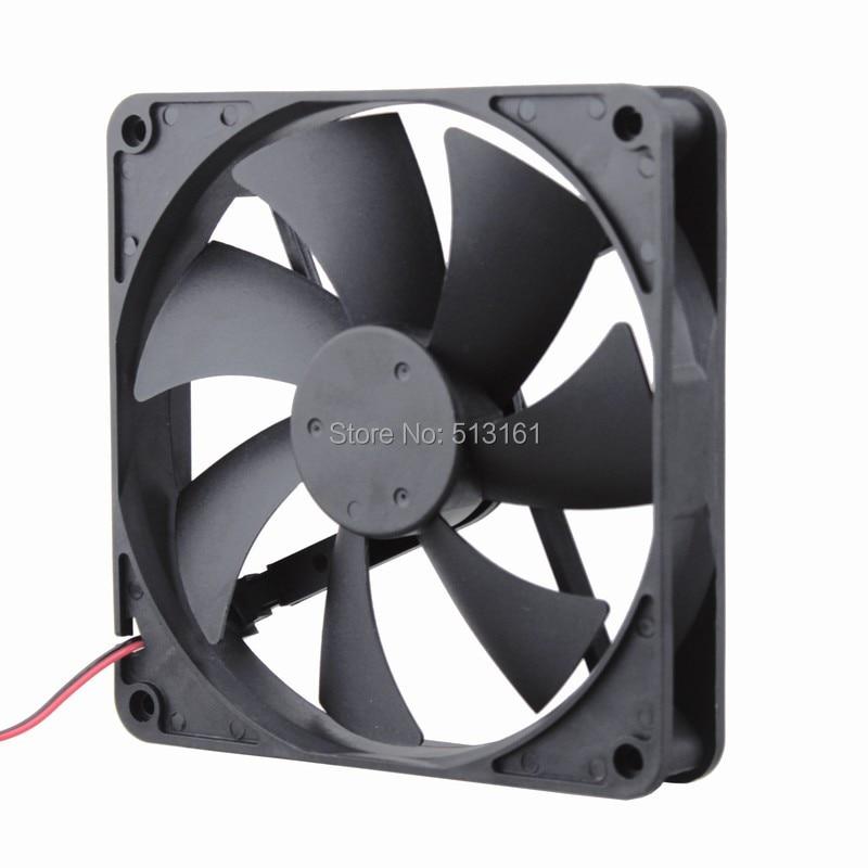 5 Pcs//Lot Gdstime Silent Quiet 140mm Cooler PC Case Cooling Fans 14cm DC 12V 2Pin Computer