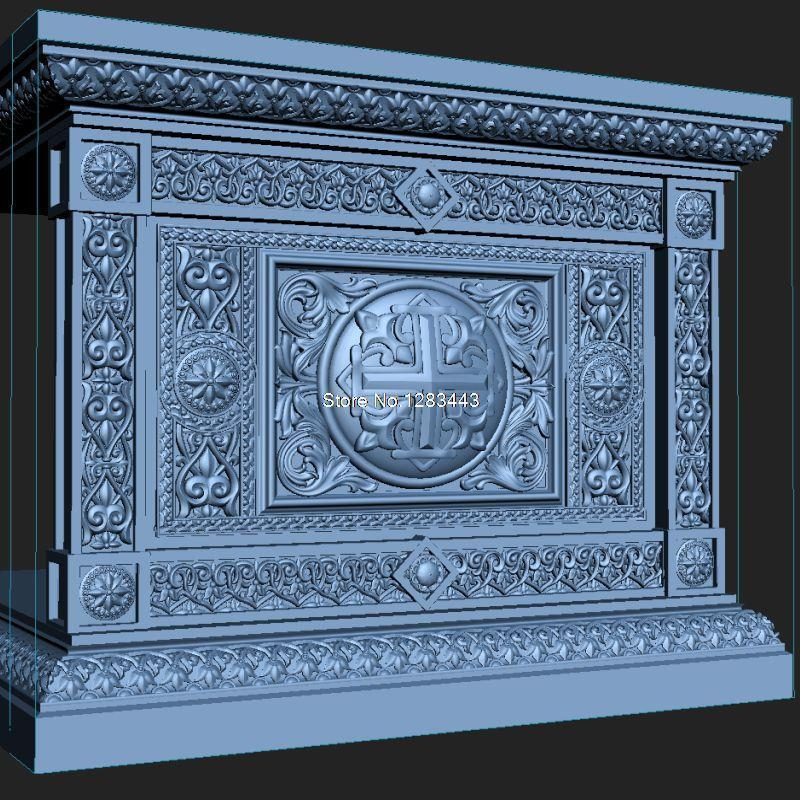 7pcs/lot High Quality New 3D Model For Cnc 3D Carved Figure Sculpture Machine In STL File Altar