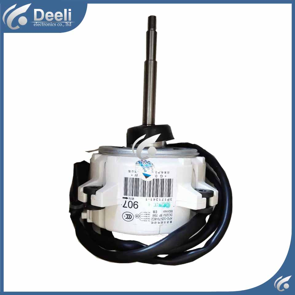 100% new good working for Air conditioner inner machine motor KFD-325-70-8C2 Motor fan ups ems dhl 95% new good working for air conditioner inner machine motor fan ydk50 8g 3 7 line
