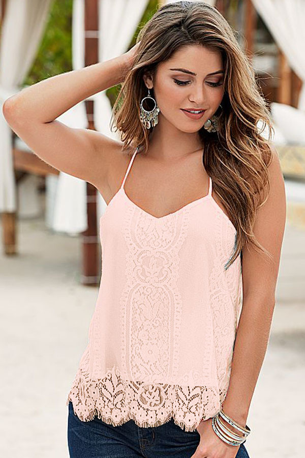 Pink-Scalloped-Lace-Tank-Top-LC25795-10-3