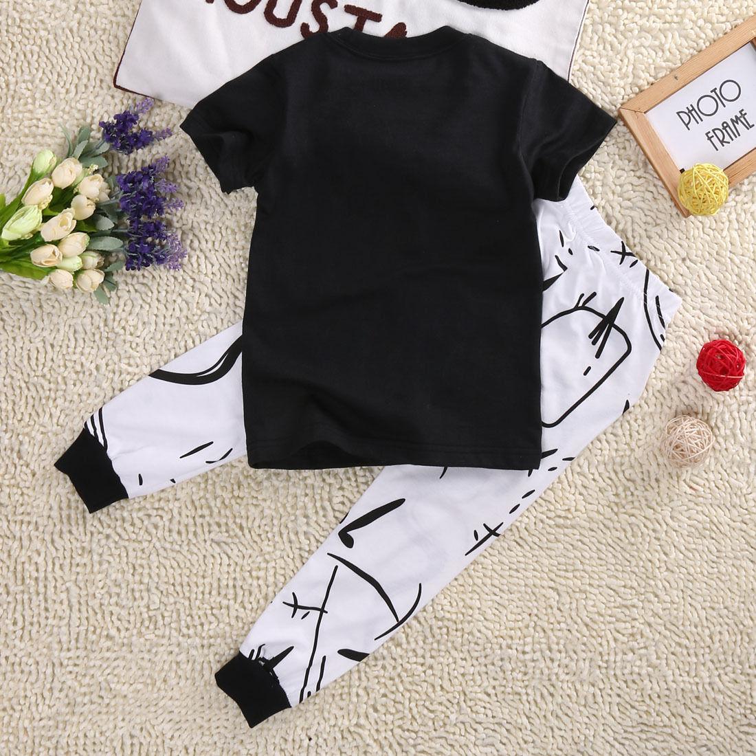 Newborn Infant Kids Baby Girl Floral T-shirt Tops+Long Pants 2PCS Outfit Clothes