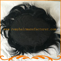Toupee men full lace color 1# jet black base size 8*10inch mens wigs hair system stock remy hair free shipping