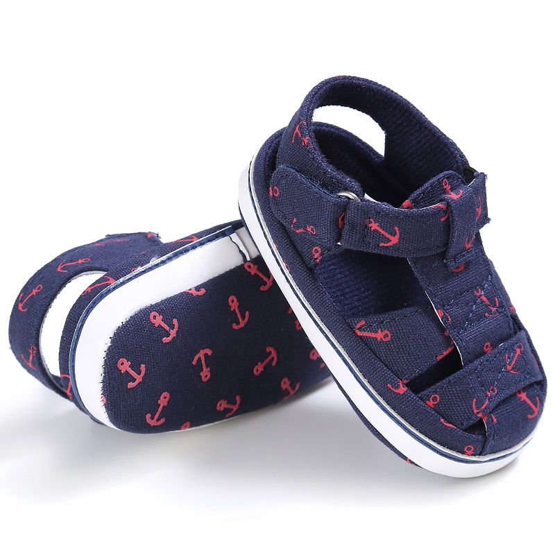 2018 Summer Style Soft Sole Fashion printing Soft bottom Baby Boys Shoes Infant Toddler  ...