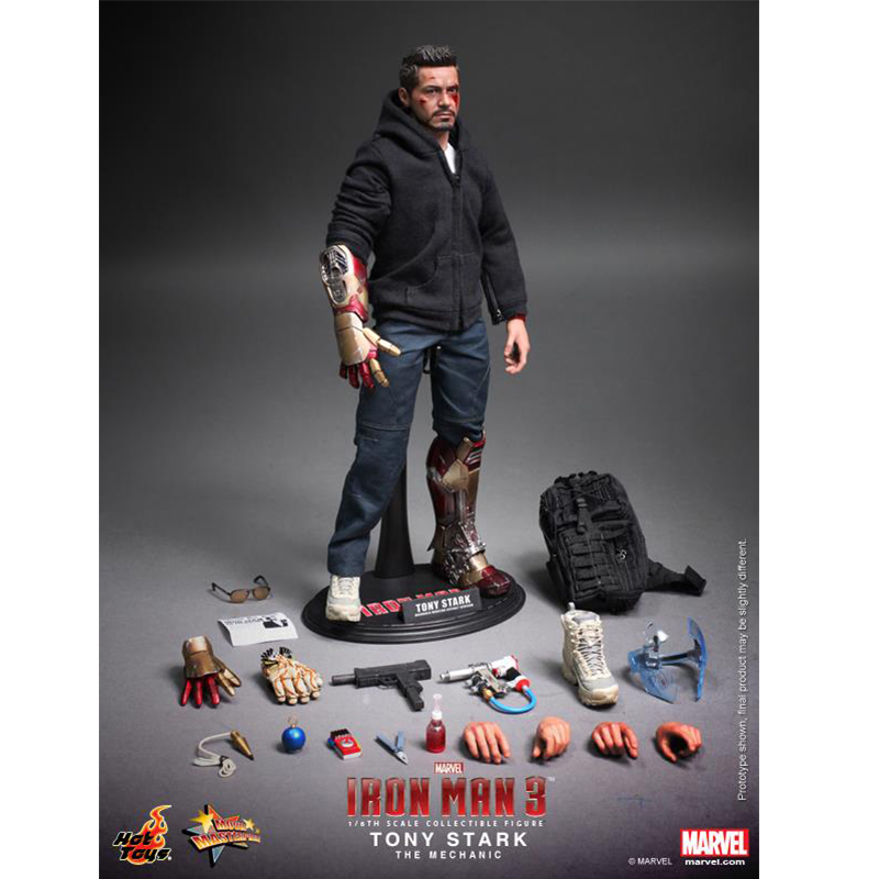 Hot Toys Hottoys HT MMS209 1/6 Iron Man Model Tony Stark The Mechanic Collectible Figure Specification New Box In Stock военные игрушки для детей hot toys wt hottoys ht 1 6