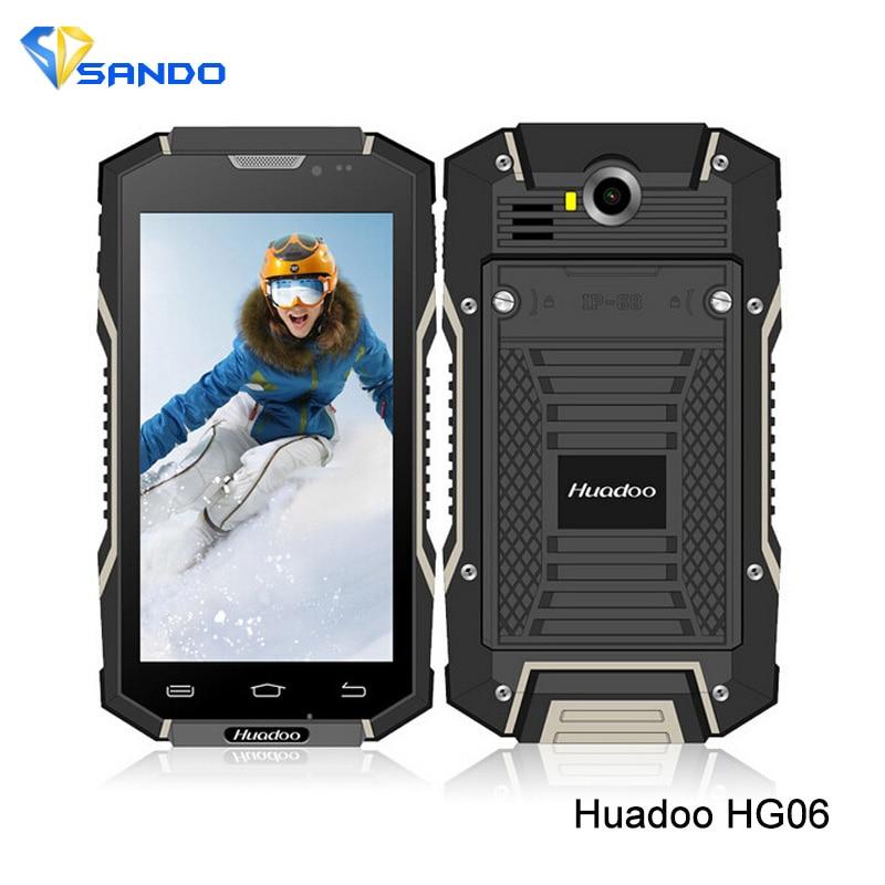 Original Huadoo HG06 IP68 Android 5 1 MTK6735 1 3Ghz Quad Core Waterproof Phone 2GB RAM