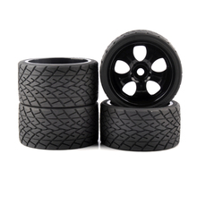 4pcs/set 1/8 Wheels Tires& Rims 17mm Hex  Diameter 139mm For 1:8 RC Model Bigfoot On-Road Car 4pc set 17mm hex 1 8 rc monster trucks on road wheels 139mm 70mm tires tyre for racing rally cars toy accessories parts