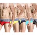 Fashion Brand Sexy Male Trunks Low Rise Men's Sleepwear High Quality Brand Men Briefs 2016 Superman Briefs Elastic Bikini S-XL