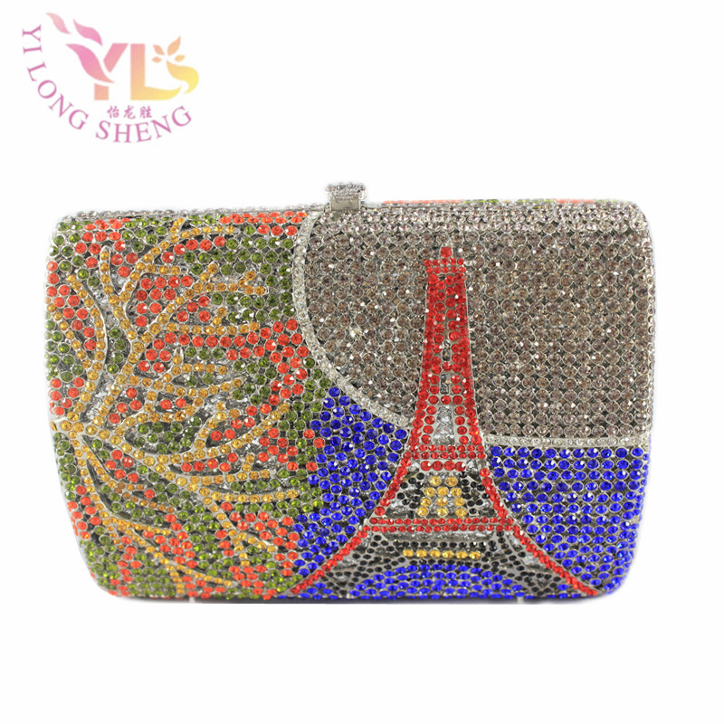 Sexy Dinner Evening Clutch Covered by High Quality Full Crystals Ladies Shoulder Handbags Crossbody Bags Hardcase YLS-HOW13Sexy Dinner Evening Clutch Covered by High Quality Full Crystals Ladies Shoulder Handbags Crossbody Bags Hardcase YLS-HOW13