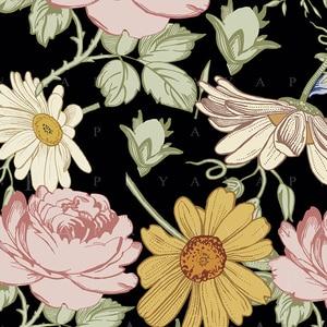 Image 3 - Nordic สไตล์ฤดูร้อน tropical ดอกไม้ plantain macrame Tapestry Vintage Retro โพลีเอสเตอร์ rose Wall แขวนตกแต่งบ้าน GN มะละกอ