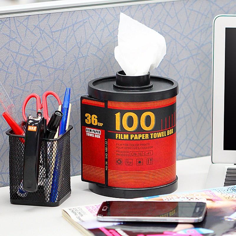 Free-Shipping-1Piece-Classic-100-Film-Paper-Towel-Box-Film-Shaped-Roll-Tissue-Box-Toilet-Roll