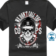 e25f4d10e 2018 New Fashion Men Fit Brand Clothes Shirt Old School Criminal We Don'T  Call The Cops Hooligans Tattoo Customize Tee Shirts