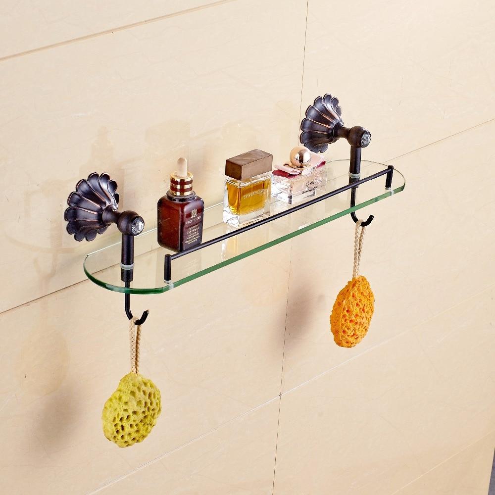 Hot Sale New Design Single Glass Bathroom Cosmetic Rack Wall Mounted ...