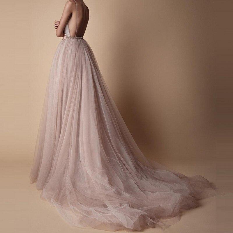 robe longue Vestido De Festa Longo Spaghetti Evening Gowns Custom ...