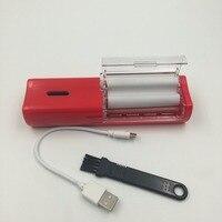 Usb Sigara Haddeleme Makinesi Tütün Herb Ot Sigara Kaynağı Otomatik Ot Değirmeni Tütün Boru Nargile Sigara Boru